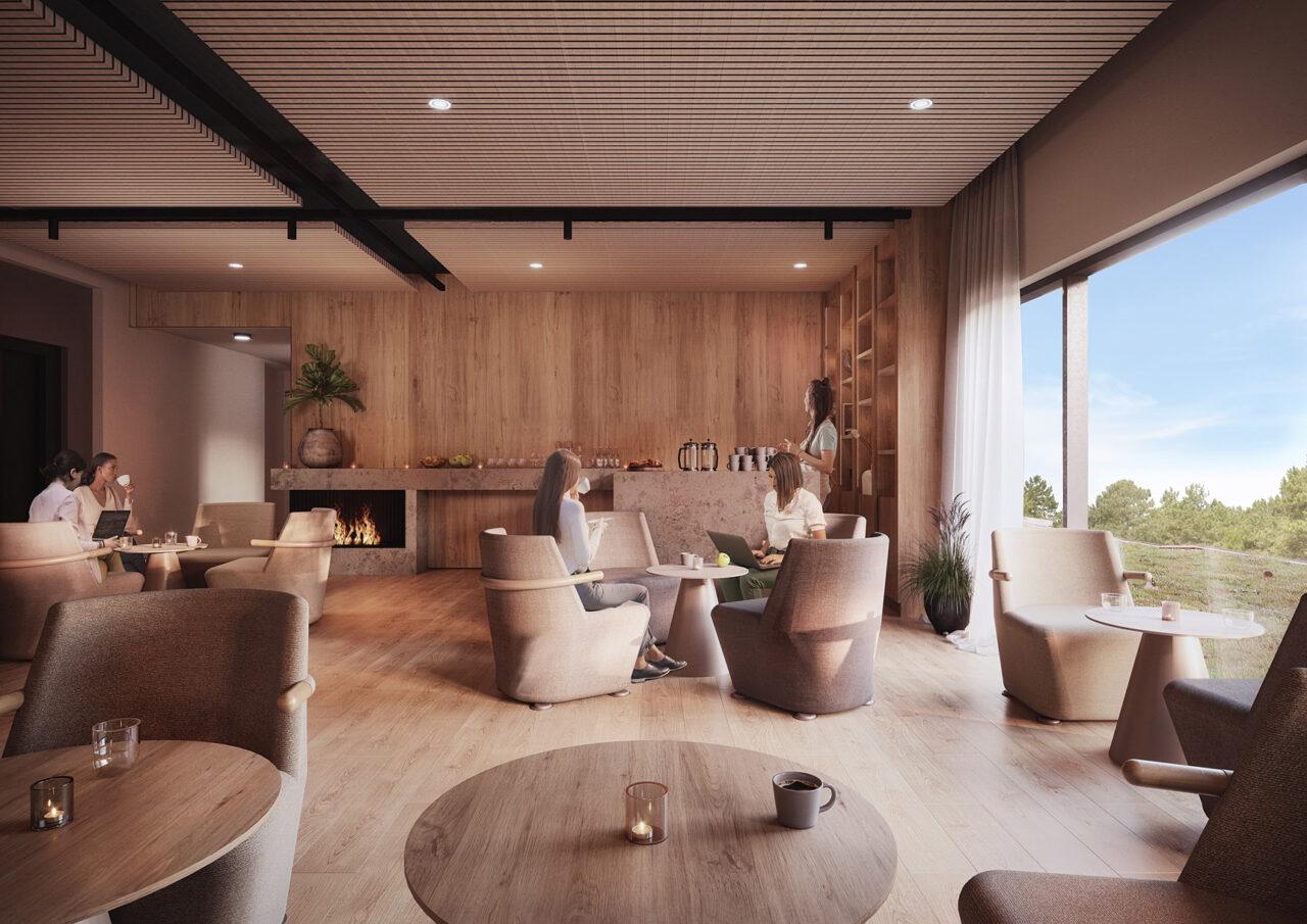 Åhus Seaside - Lounge plan 3