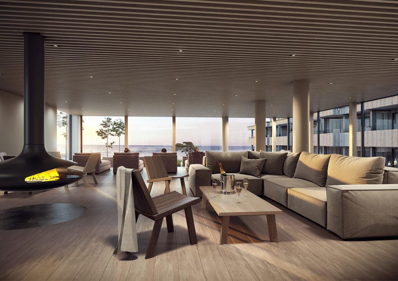 Åhus Seaside - Spa-lounge